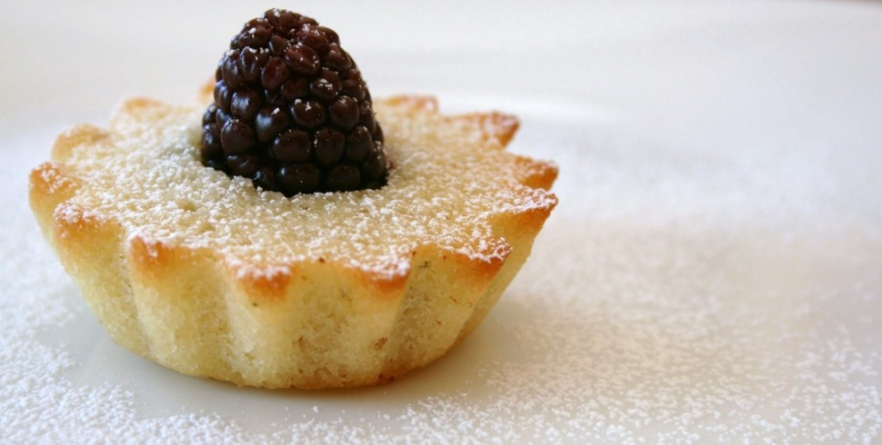 Almond Financier Tartlets Recipe — Dishmaps