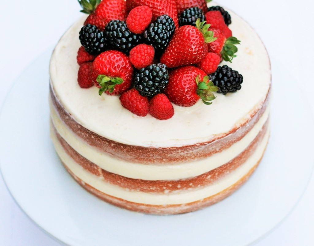 Citrus Barry Naked Cake 1