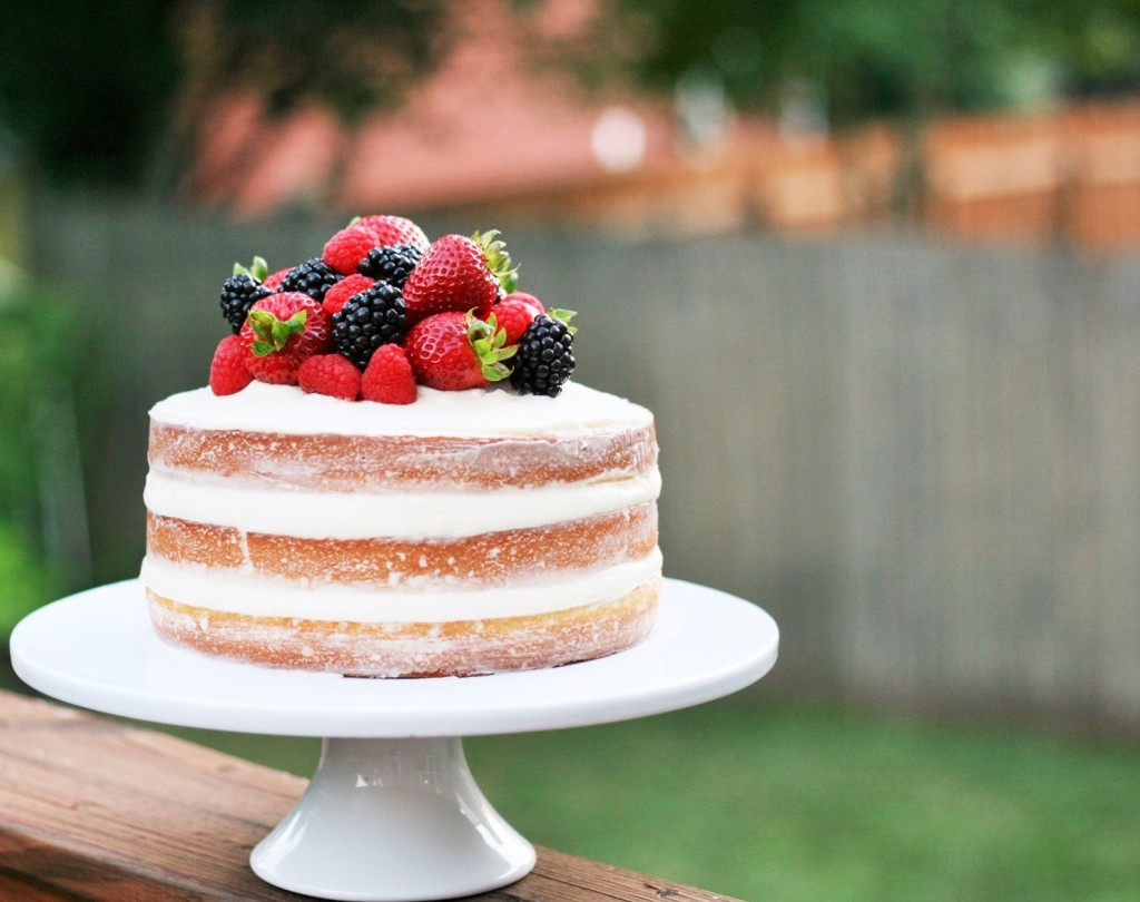 Vintage Boho Home Decor Citrus Berry Naked Cake Laws Of Baking