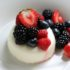 Summer Berry Mascarpone Panna Cotta